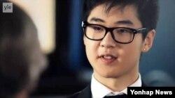 최근 핀란드TV와 인터뷰한 북한 김정일 국방위원장의 손자 김한솔 군.