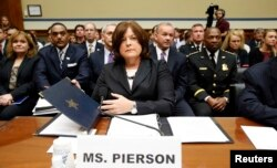 Julia Pierson responde às questões no Capitólio em Washington, Set. 30, 2014.