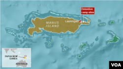 Detention Camp Sites on Manus Island, Papua New Guinea