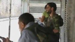 مخالفان مسلح سوری به حلب عقب نشينی کردند