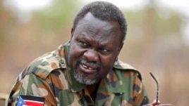 South Sudan's former vice president turned opposition leader Riek Machar has been in hiding since violence broke out in Juba in December.