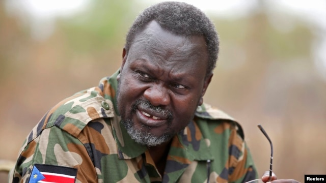 An executive order allows the U.S. to freeze the assets of anyone found to threaten South Sudan's peace and security - whether they are part of South Sudan's government or  anti-government forces.