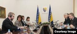 Delegacija SAD o važnim stvarima razgovarala sa članovima Predsjedništva BiH, Sarajevo, 6. juni 2018.