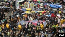 Người dân Hong Kong đã xuống đường trong suốt gần một tháng qua để phản đối luật dẫn độ