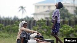مسلمانان روهینگیا مجبور به ترک خانه هایشان شدند