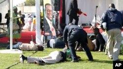 Vítimas do atentado contra Emmerson Mnangagwa