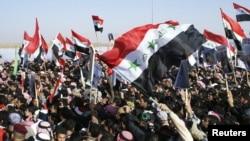 عراق میں سنی مسلمانوں کا حکومت کے خلاف مظاہرہ، 26 دسمبر 2012