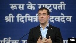 Tổng thống Nga Dmitry Medvedev đã thông báo tin cho Tổng thống Pháp Nicolas Sarkozy trong một cuộc điện đàm hôm thứ Sáu.