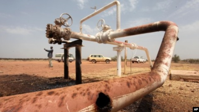 Oil well in Sudan