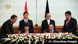 چین او افغانستان د امنیت، کورجوړولو او معارف په برخو کې همکارۍ کوي