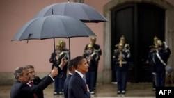 Барак Обама на саммите в Лиссабоне