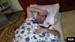 Rüfət Səfərov 2015-ci il dekabrın 24-də aclıq edərkən