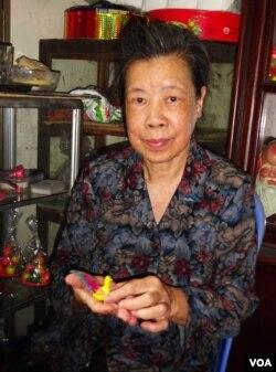 Bà Phạm Nguyệt Ánh. (Hình: Trịnh Bách)