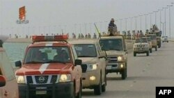 Hình ảnh trên truyền hình cho thấy 200 xe quân sự của Ả Rập Xê Út tiến vào Bahrain