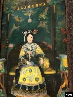 慈禧太后油画像