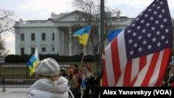 Американські українці та їх дузі вимагають від уряду допомогти Україні