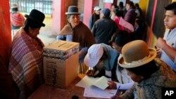 Elecciones en Bolivia infligen golpe al partido de Evo Morales, Movimiento al Socialismo, con significante derrota en las urnas.