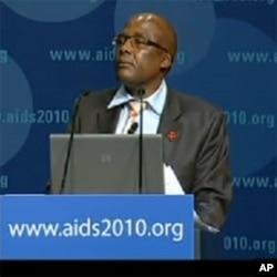 South African Health Minister Dr. Aaron Motsoaledi