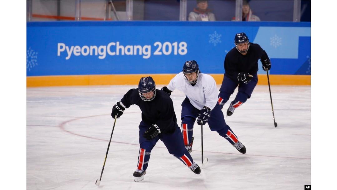 Joint Korean Hockey Team Overcomes Language Divide