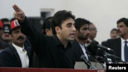 Sin ubijene pakistanske premijerke, Bilaval Buto Zardari