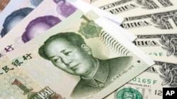 人民币与美元