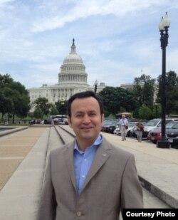 流亡海外世界维吾尔代表大会发言人、美国维吾尔协会主席阿里木•斯依托夫(Alim Seytoff)(阿里木•斯依托夫提供)