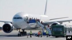Un avion à l'aéroport d'Istanbul, le 7 septembre 2011