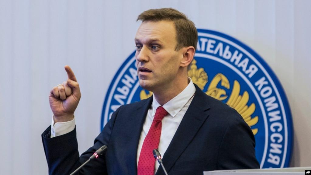 Image result for Presidential Poll: Russian opposition leader Navalny calls for boycott