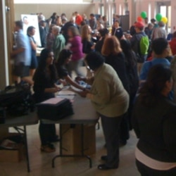 Hundreds of people attended a consumer education fair in Montgomery County, Maryland