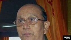 Perdana Menteri Burma Thein Sein yang akan menjabat presiden setelah pelantikan.
