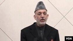 Presiden Hamid Karzai mengumumkan pemecatan kepala intelijen Afghanistan (foto: dok).