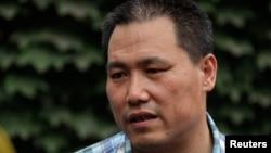 中國著名維權律師浦志強(資料照片)