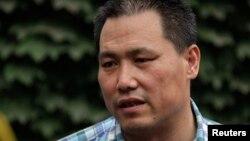 중국의 인권변호사 푸즈창 (자료사진)
