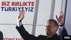 PM Turki Recep Tayyip Erdogan berniat mengunjungi Gaza setelah kunjungan resmi ke Mesir.