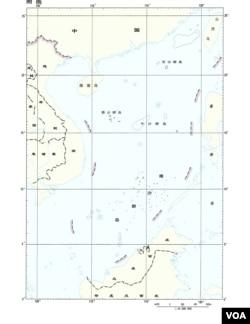 2009年中國向聯合國提交九段線地圖