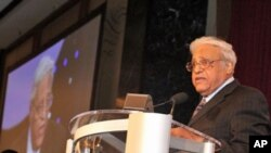 Benjamin Hooks (seen here in July 2009) led the National Association for the Advancement of Colored People (NAACP) for 15 years, beginning in 1977.