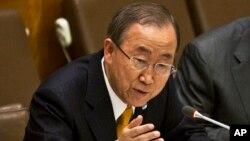 U.N. Secretary-General Ban Ki-moon, Sept. 25, 2014.