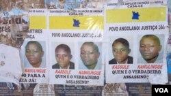 Activistas foram mortos em 2012 pelos serviços secretos