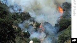 野火肆虐加州 洛杉矶社区受威胁