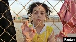 Người tị nạn Syria trong một trại ở Jordan