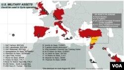U.S. Military Assets - September 2, 2013