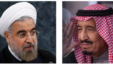 Iranian President Hassan Rouhani (left) and King Salman bin Abdulaziz Al Saud of Saudi Arabia. (UN photo, AP photo, respectively)