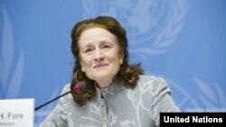 Direktur UNICEF, Henrietta Fore. (Foto: dok)
