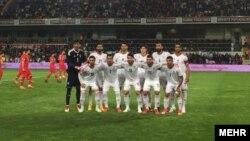 تیم ملی فوتبال ایران پیش از دیدار دوستانه با تیم ملی ترکیه