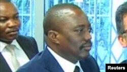 Le président Joseph Kabila de la RDC, à Kinshasa, 19 mars 2017.