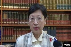 台灣外交部發言人高安(視頻截圖)