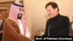 وزیر اعظم عمران خان نے سعودی ولی عہد محمد بن سلمان سے ملاقات کی