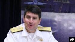 美國海軍作戰部代理副部長、前太平洋艦隊戰鬥部隊司令鄧尼根少將.
