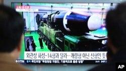 VOA连线(小玉):朝鲜再射导弹,日本主张强化施压的背后