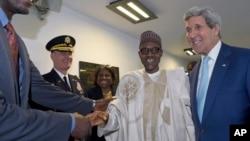 Shugaba Buhari da John Kerry
